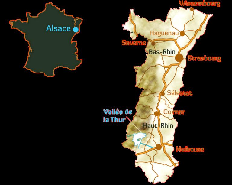 Carte Halieutique Alsace.J Francois Hundsbuckler Guide De Peche En Alsace